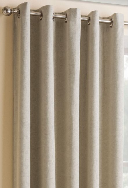 Conway Cream Eyelet Curtains 1