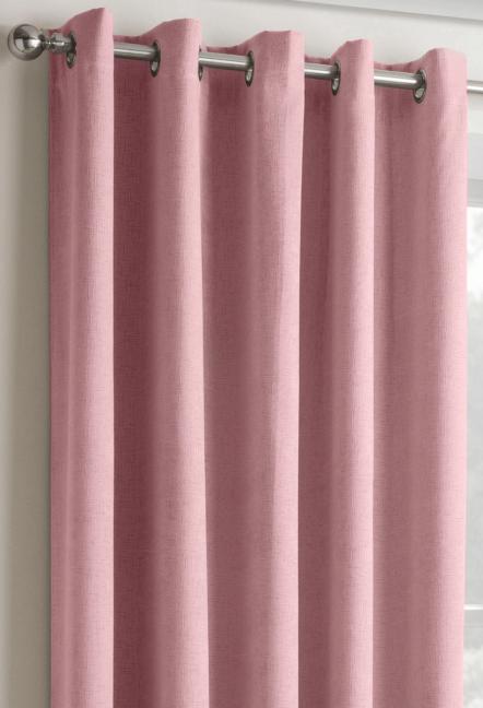 Conway Blush Eyelet Curtains 1
