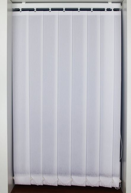 PEONY WHITE VERTICAL BLIND