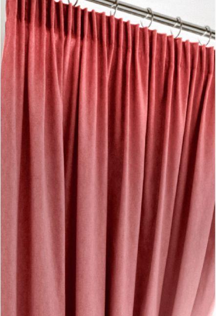 Warren Blush Blackout Curtains 1