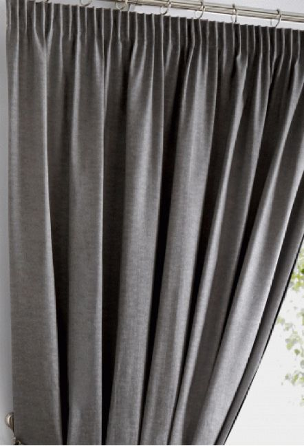 Warren Charcoal Blackout Curtains 1