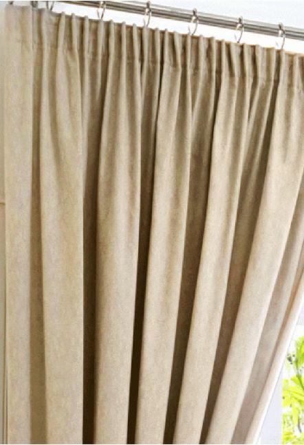 Warren Natural Blackout Curtains 1