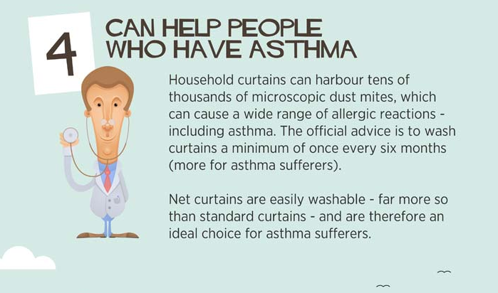 Can help people who have asthma